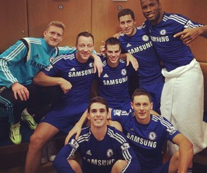 blue, Chelsea, and handsome image