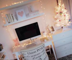 room, light, and christmas image