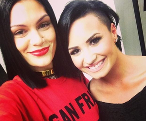 demi lovato, jessie j, and demi image