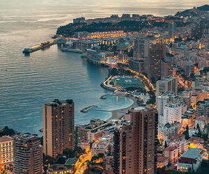 city, monaco, and luxury image