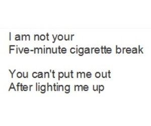 quote, Relationship, and smoke image