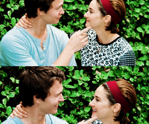 Shailene Woodley, gus, and the fault in our stars image