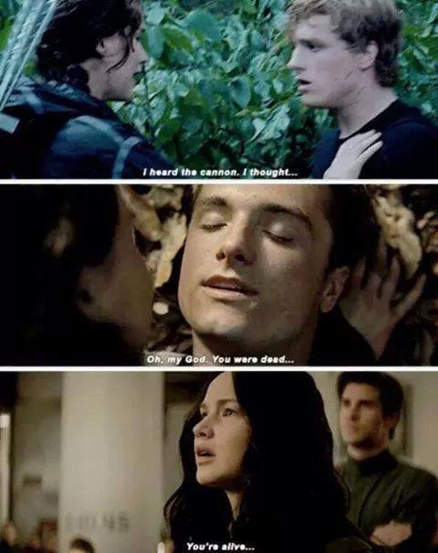 hunger games, love, and the hunger games image