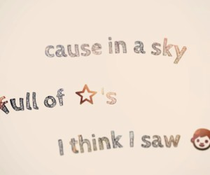 coldplay, love, and a sky full of stars image