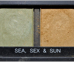 eyeshadow, makeup, and sea image