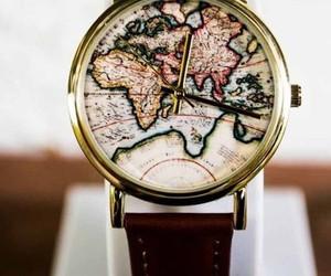 watch, world, and clock image