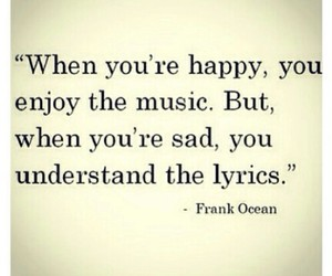 quote, music, and sad image