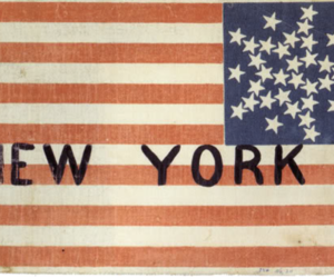 new york, flag, and stars image