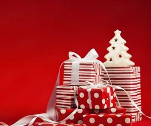 christmas, december, and gift image