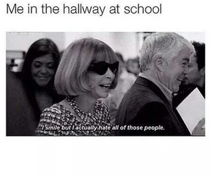 school, hate, and funny image