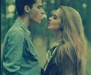 love, girl, and smoke image