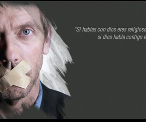 dr house, espanol, and frases image