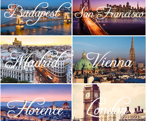 budapest, firenze, and italy image