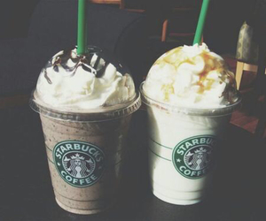 drinks, Effects, and starbucks image