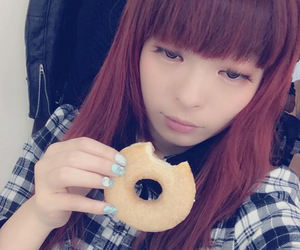 bagel, food, and japanese image