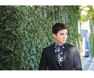 logan lerman, handsome, and Hot image