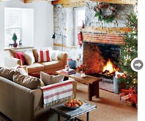 christmas, cozy, and fireplace image