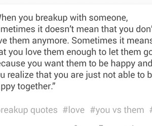 let it go, tumblr, and quotes about breakup image