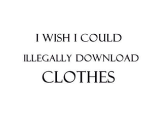 clothes, download, and quotes image