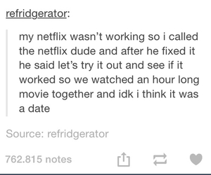 funny, tumblr, and netflix image
