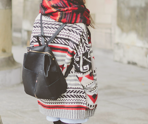 beanie, blogger, and cardigan image