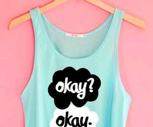 blue, shirt, and the fault in our stars image