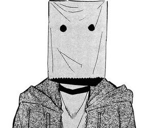 anime, manga, and monochrome image