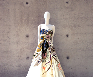 dress, gown, and haute couture image