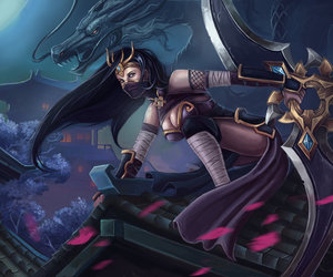 lol, sivir, and league of legends image