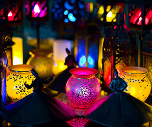 Ramadan, islam, and lights image