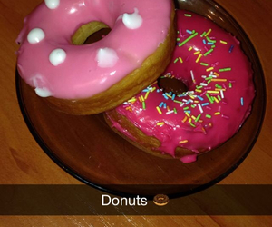 donuts, style, and taste image