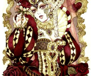 art and queen of hearts image