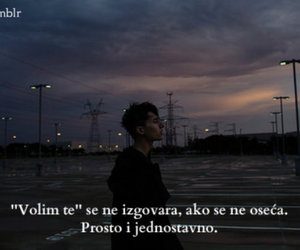 quotes, text, and volim te image