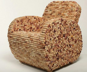 chair, champaign, and cork image