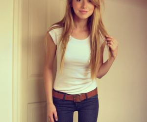 blond, fashion, and girl image