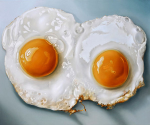 art, eggs, and painting image