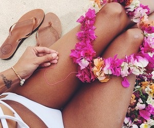 Aloha, beautiful, and girl image