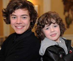 beautifull, little harry, and sweet image