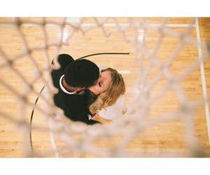 Basketball, couple, and epic image