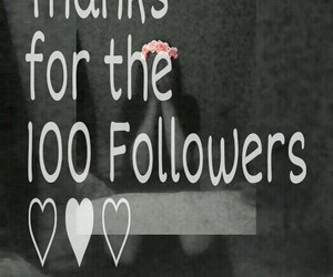 100, thank, and ♡ image