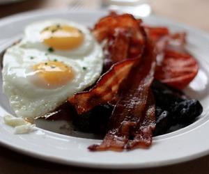 bacon, egg, and food image