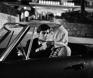 Alain Delon, french, and movie image