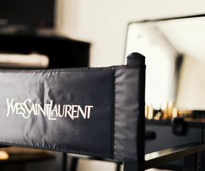 YSL, Yves Saint Laurent, and black image