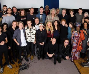 ed sheeran, one direction, and Ellie Goulding image