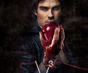 ian somerhalder, damon, and the vampire diaries image
