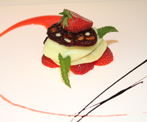 caramel, fraise, and menthe image