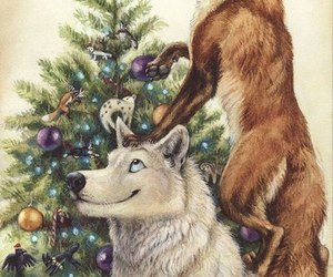 wolf and fox image