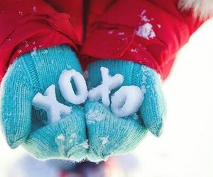 snow, winter, and xoxo image