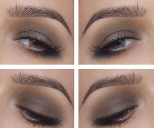 brow, eyes, and makeup image