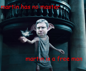 Martin Freeman, dobby, and funny image